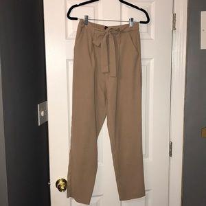High waisted dress pants (nude)